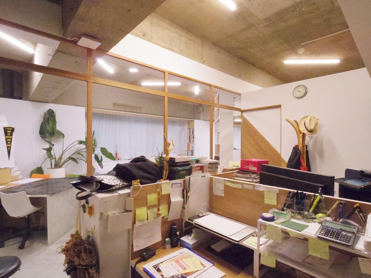 真ん中の個室