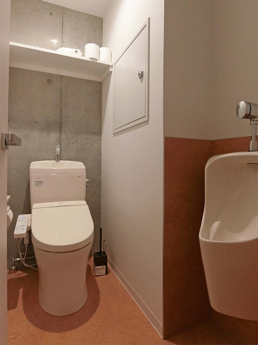 1階男女共用トイレ