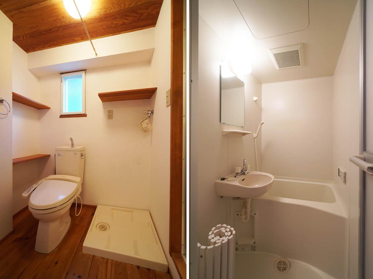 【別区画の参考写真】洗面と2点ユニットですが追焚付です