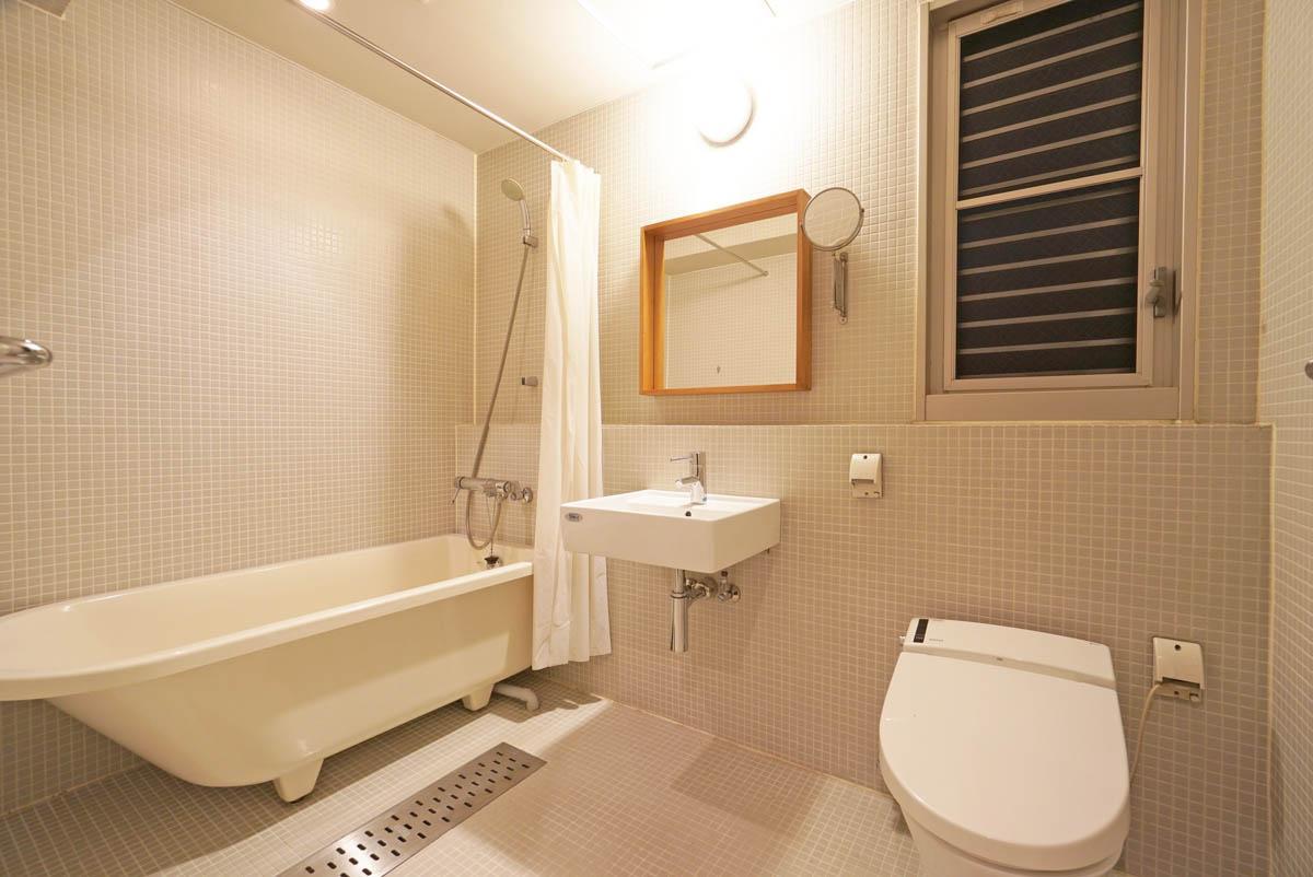 ホテルライクなバスルーム