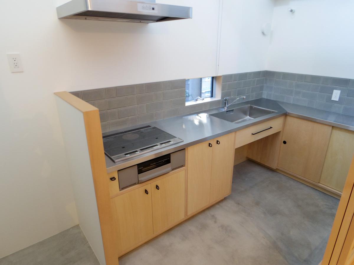 広々と取られたキッチン。料理好きにはたまらないスペース
