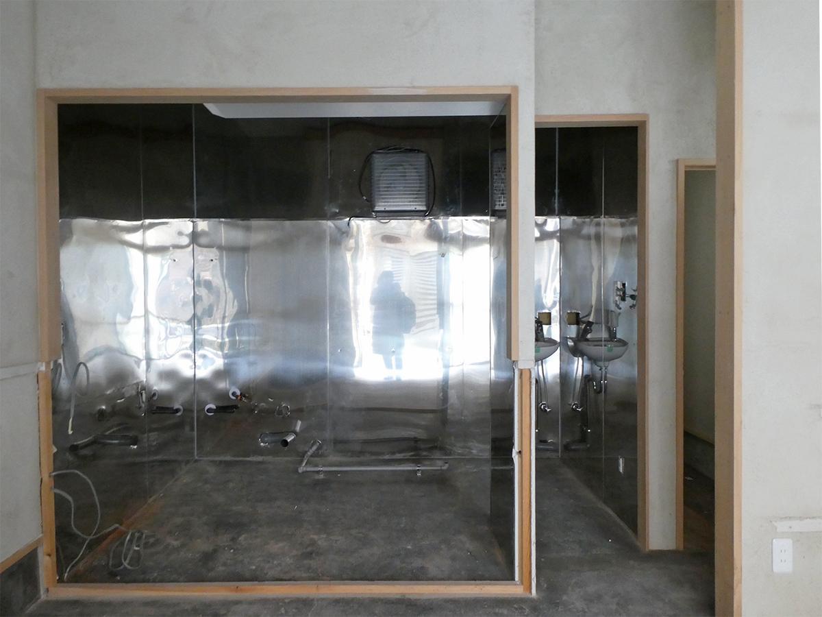1階:厨房のなごり