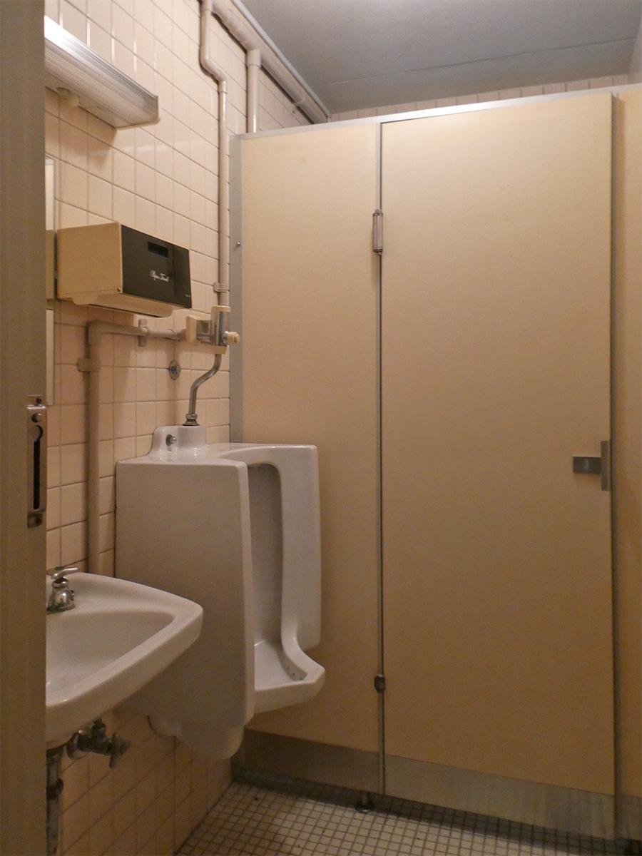 トイレは男女共用