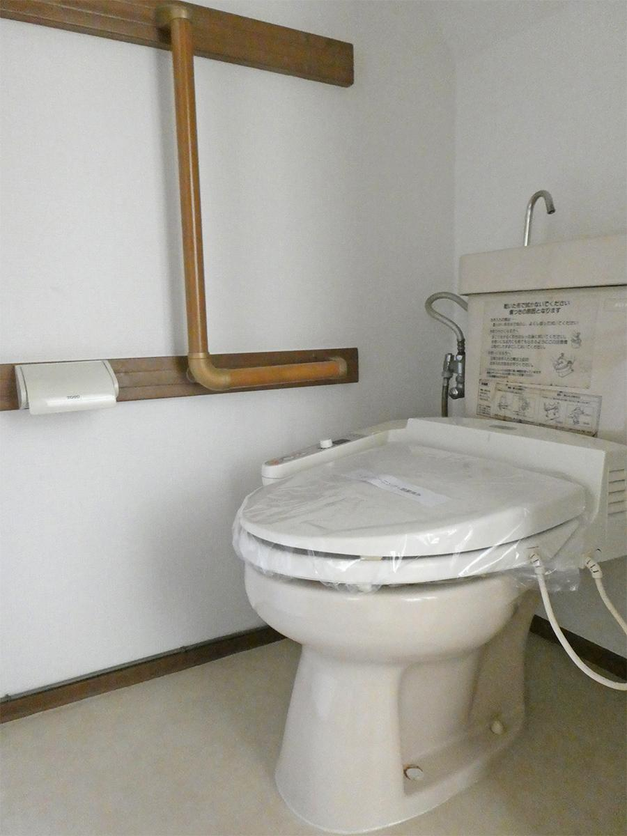 1階:住居部分トイレ