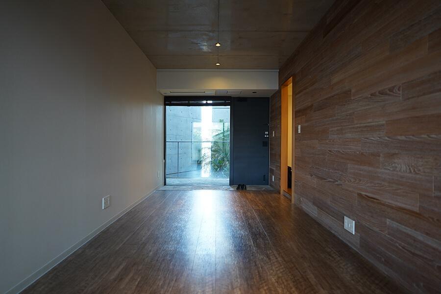 シンプルな長方形の間取りなので、家具の配置もしやすそう