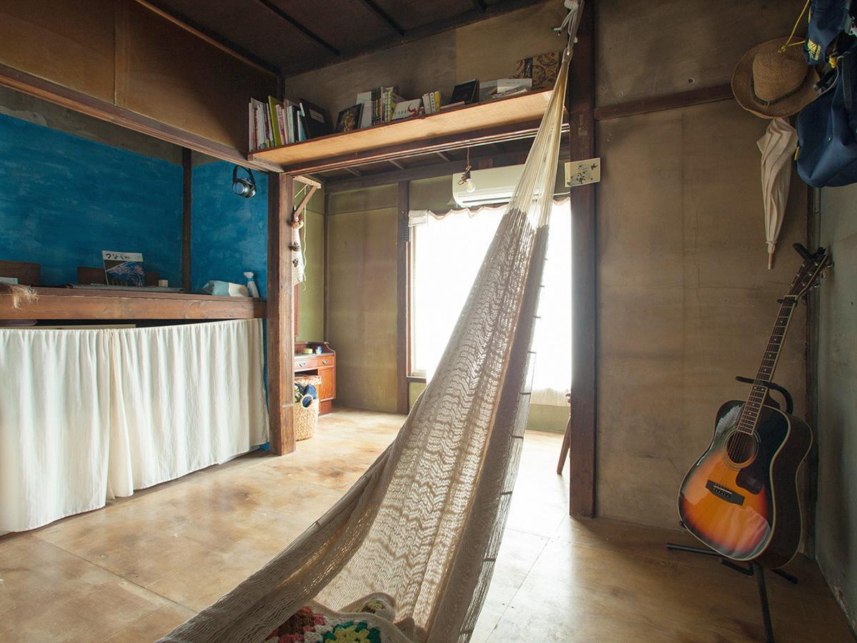8号室:使い込まれた木の感じがいい※家具はつきません