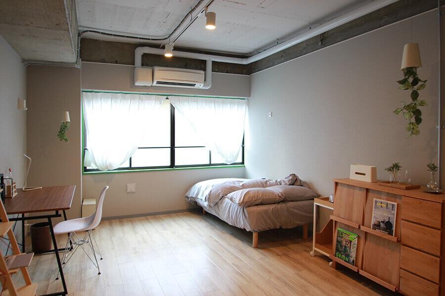 203号室など面積が広い部屋もあります