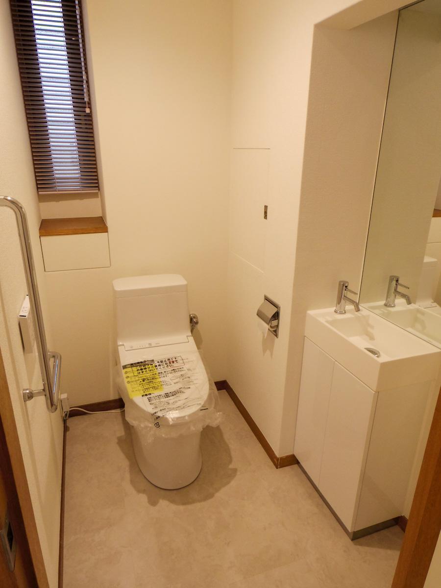 トイレは各階に1ヶ所づつ