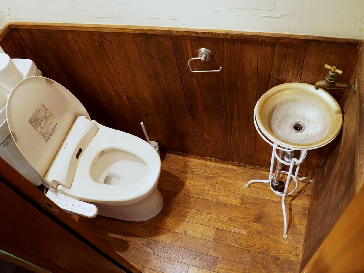 トイレもひとつ