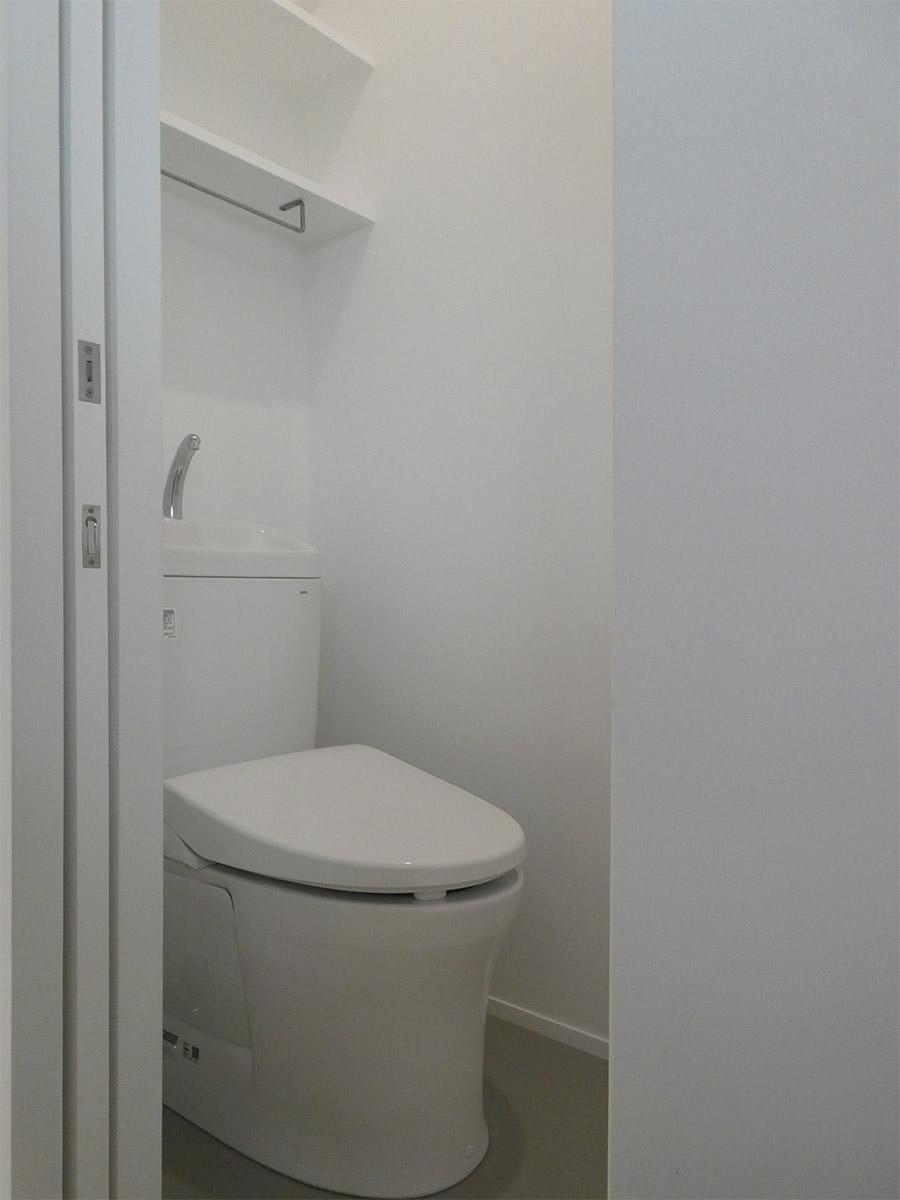トイレも新しく快適
