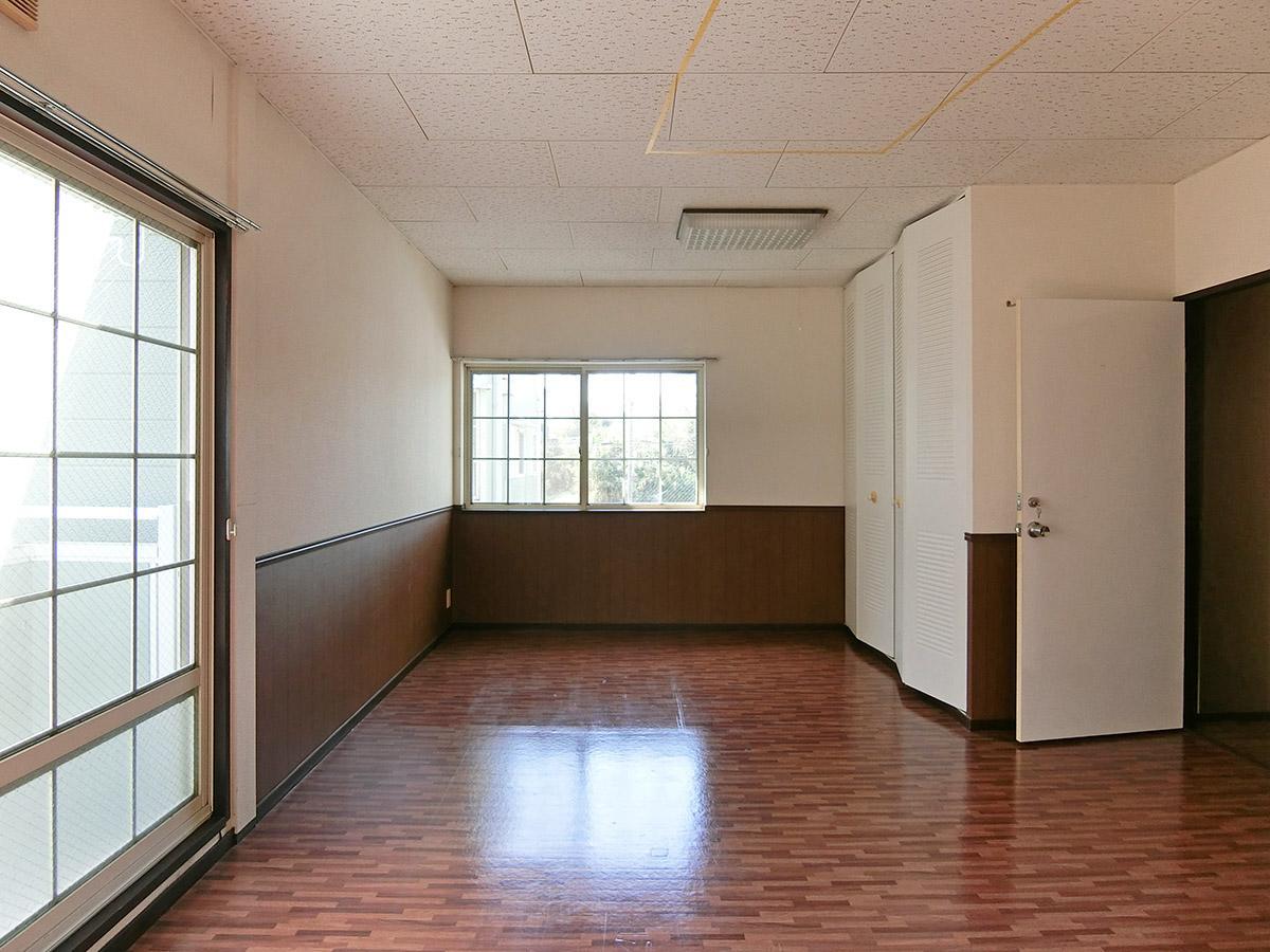 D棟の8号室:南側の部屋
