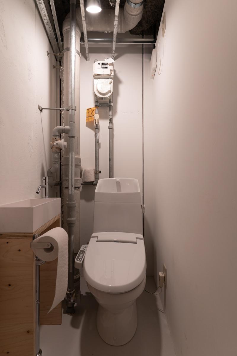 1階店舗のトイレ