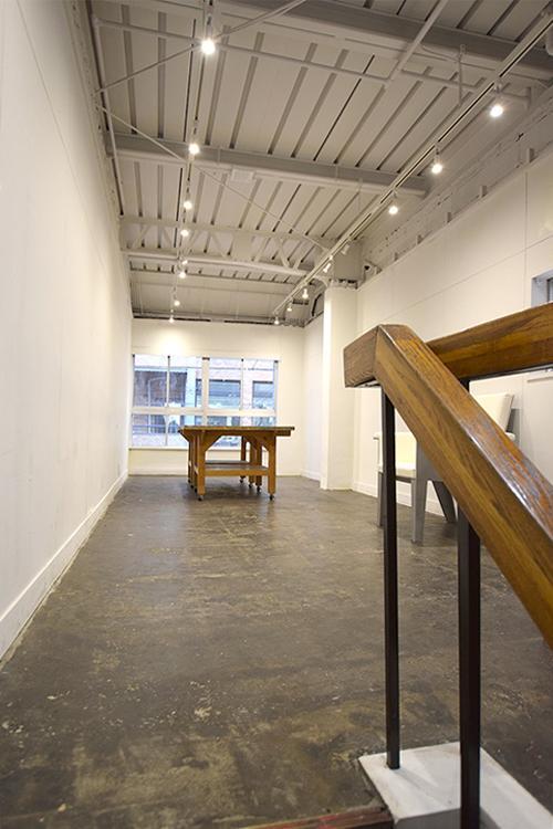 【レンタルスペース】展示などのイベントが開きやすいようなシンプルなスペースもある