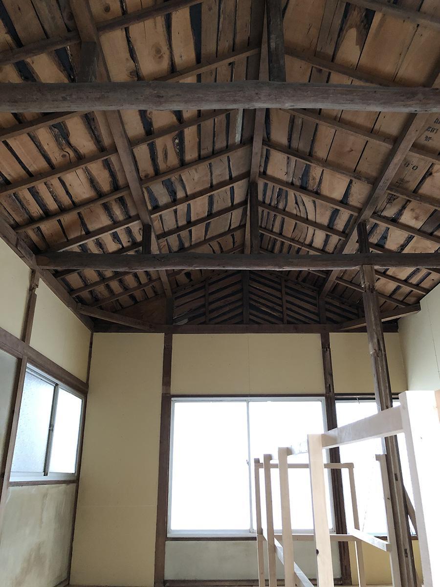 2階の天井がかっこいい