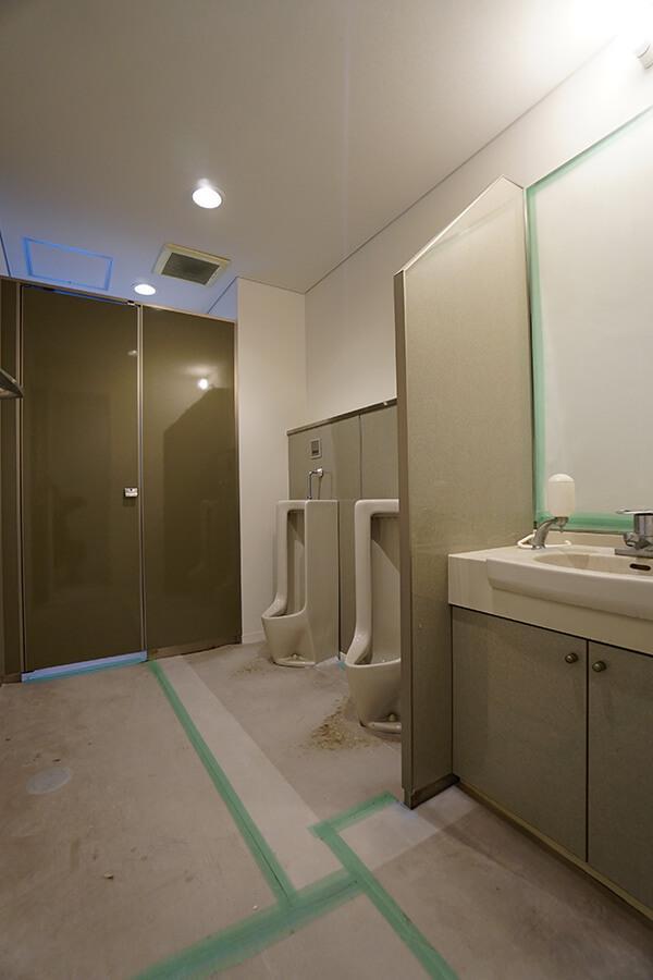 トイレは清潔感あり