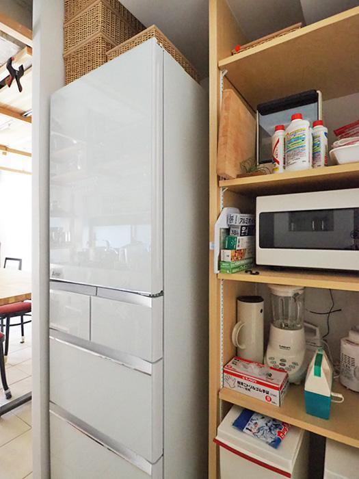 冷蔵庫や備品は残置物としてそのまま使っていただけます