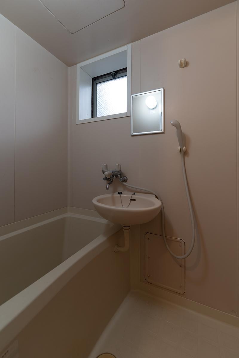 お風呂と洗面所が同室