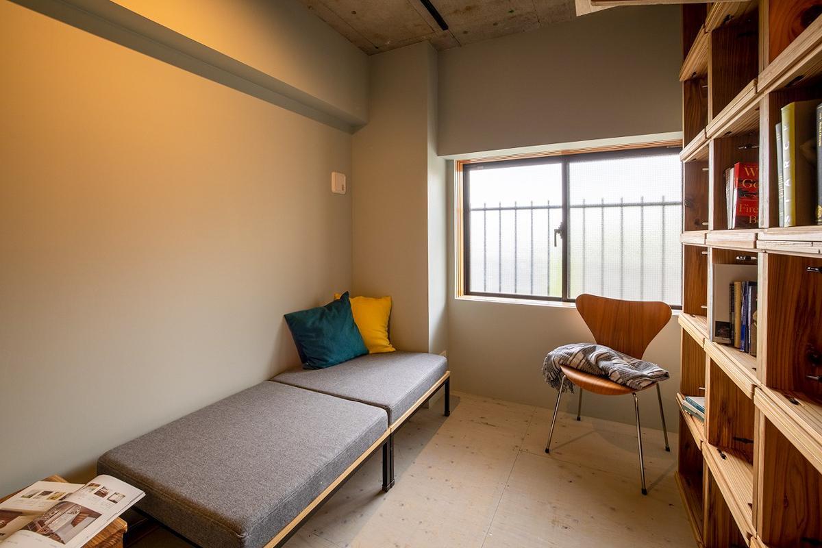 北西側のスペースが寝室向きかもしれません