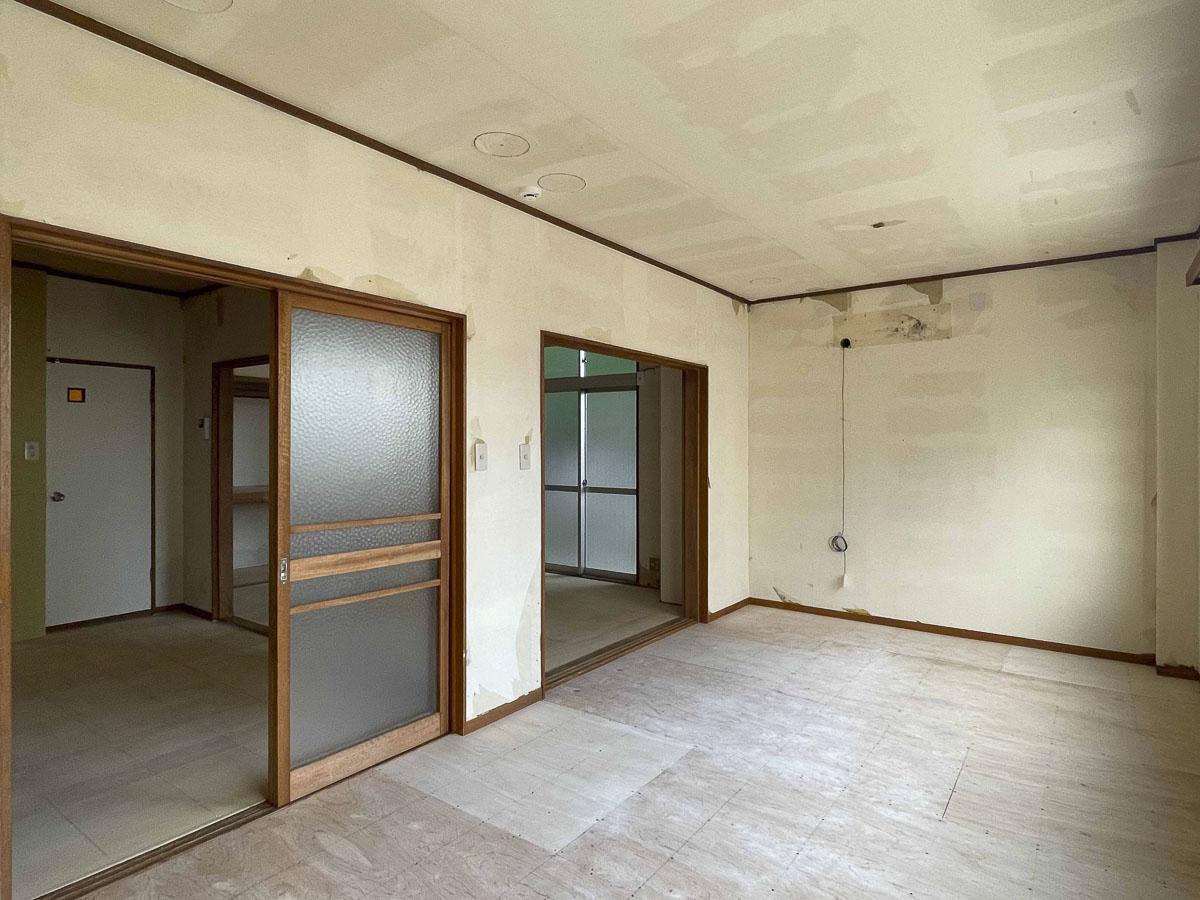 9.2畳の部屋:エアコンは貸主側で1台設置予定です