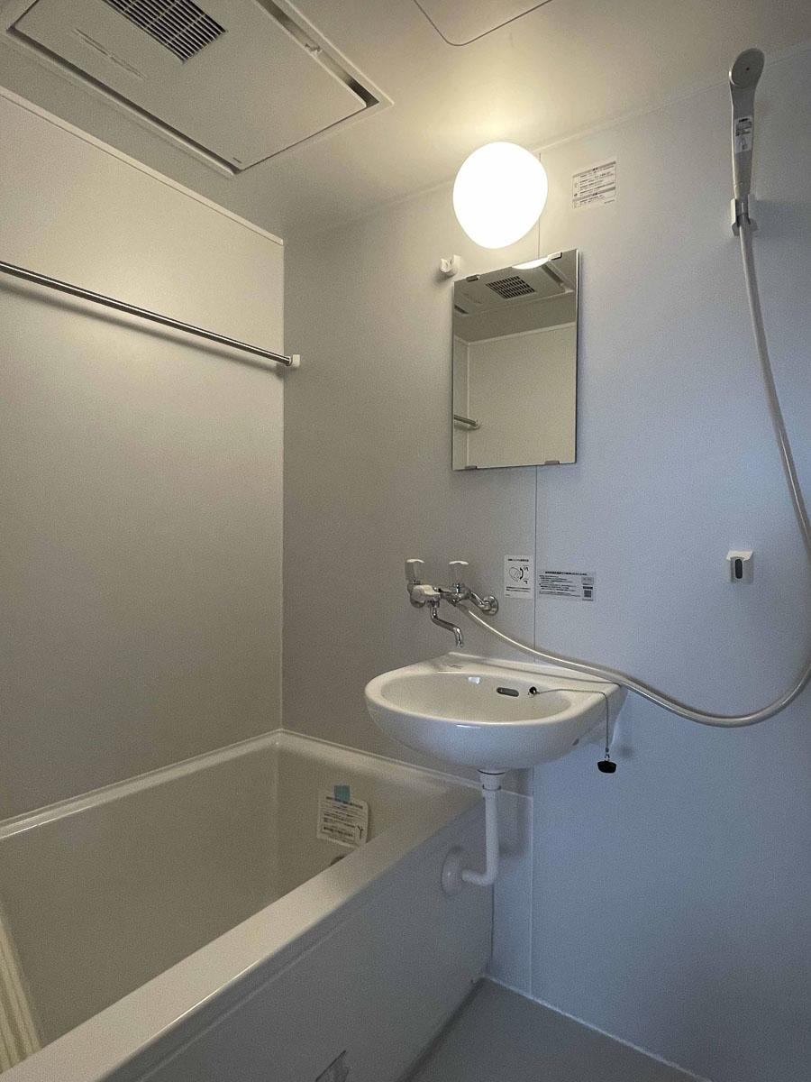 浴室も新品
