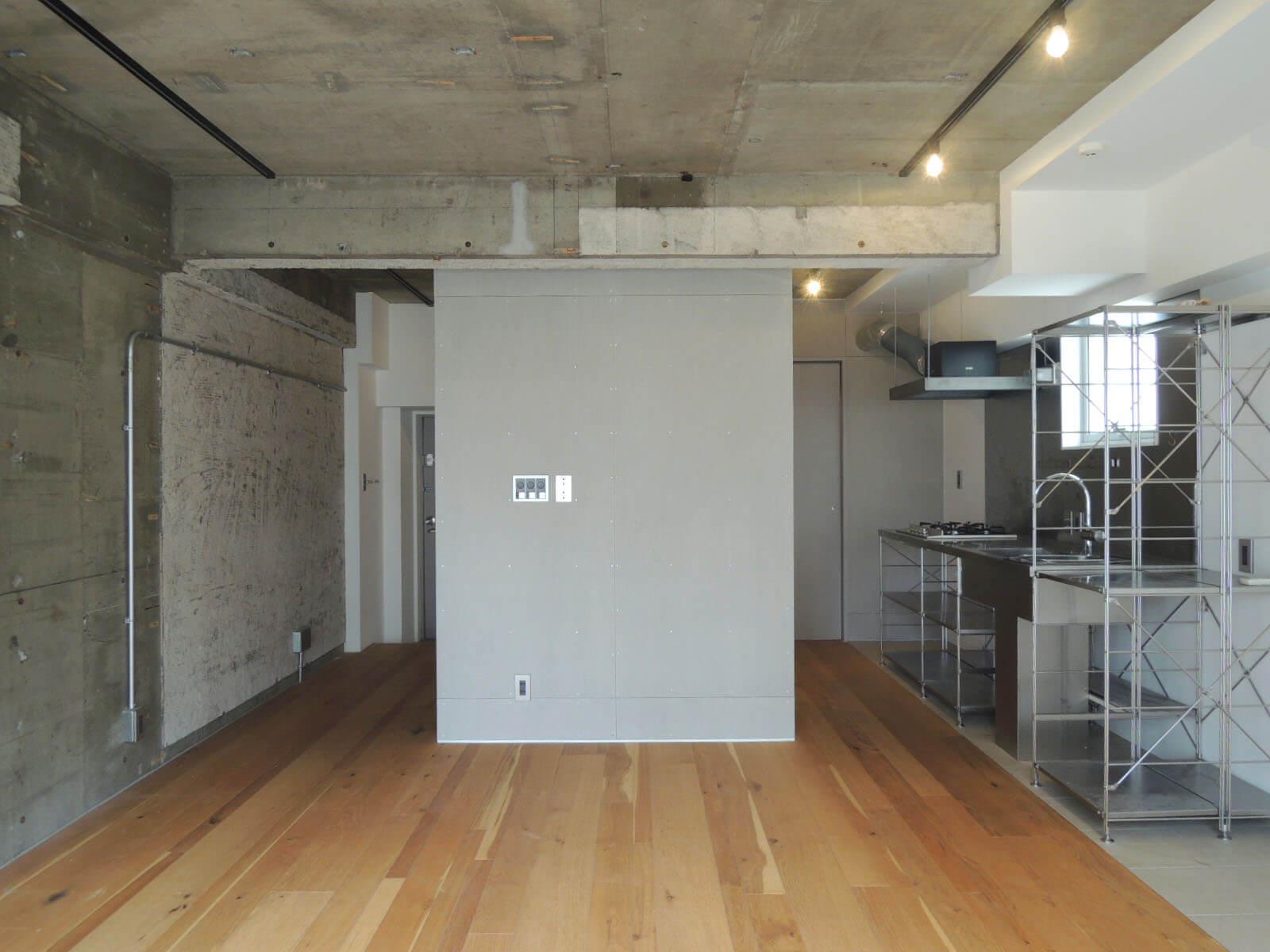 【家】1-2人暮らしサイズのデザインされた空間です