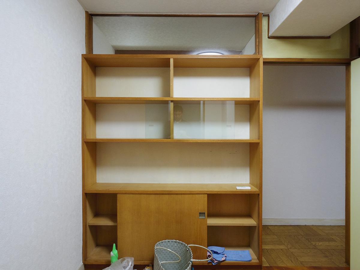 3畳納戸の収納。たくさん本が入りそう