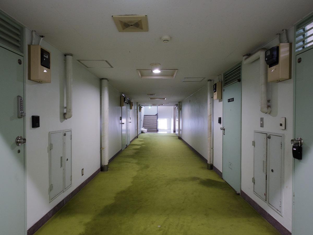 共用部は内廊下
