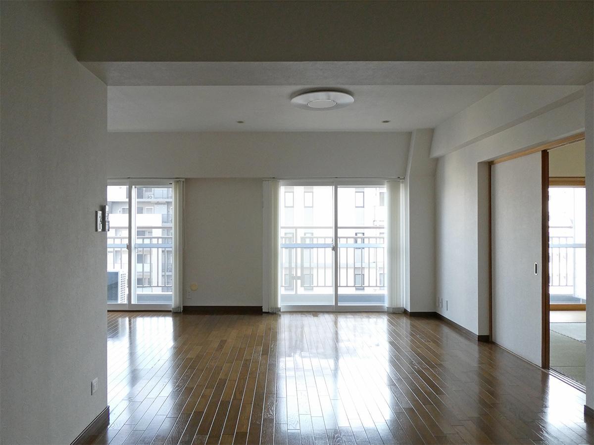 9階リビングダイニング:約17.8畳とゆったり使えます