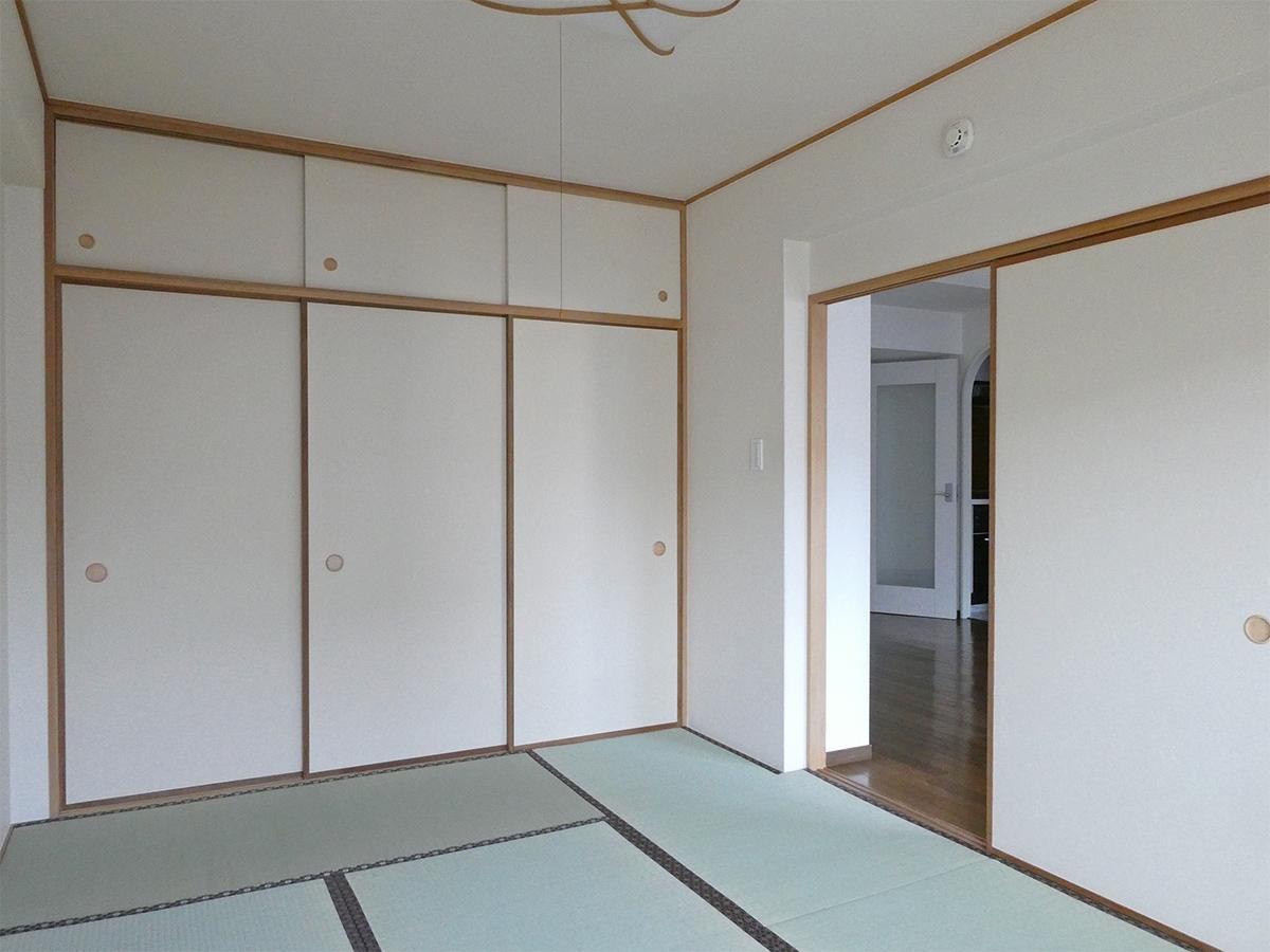9階和室:こちらにも収納