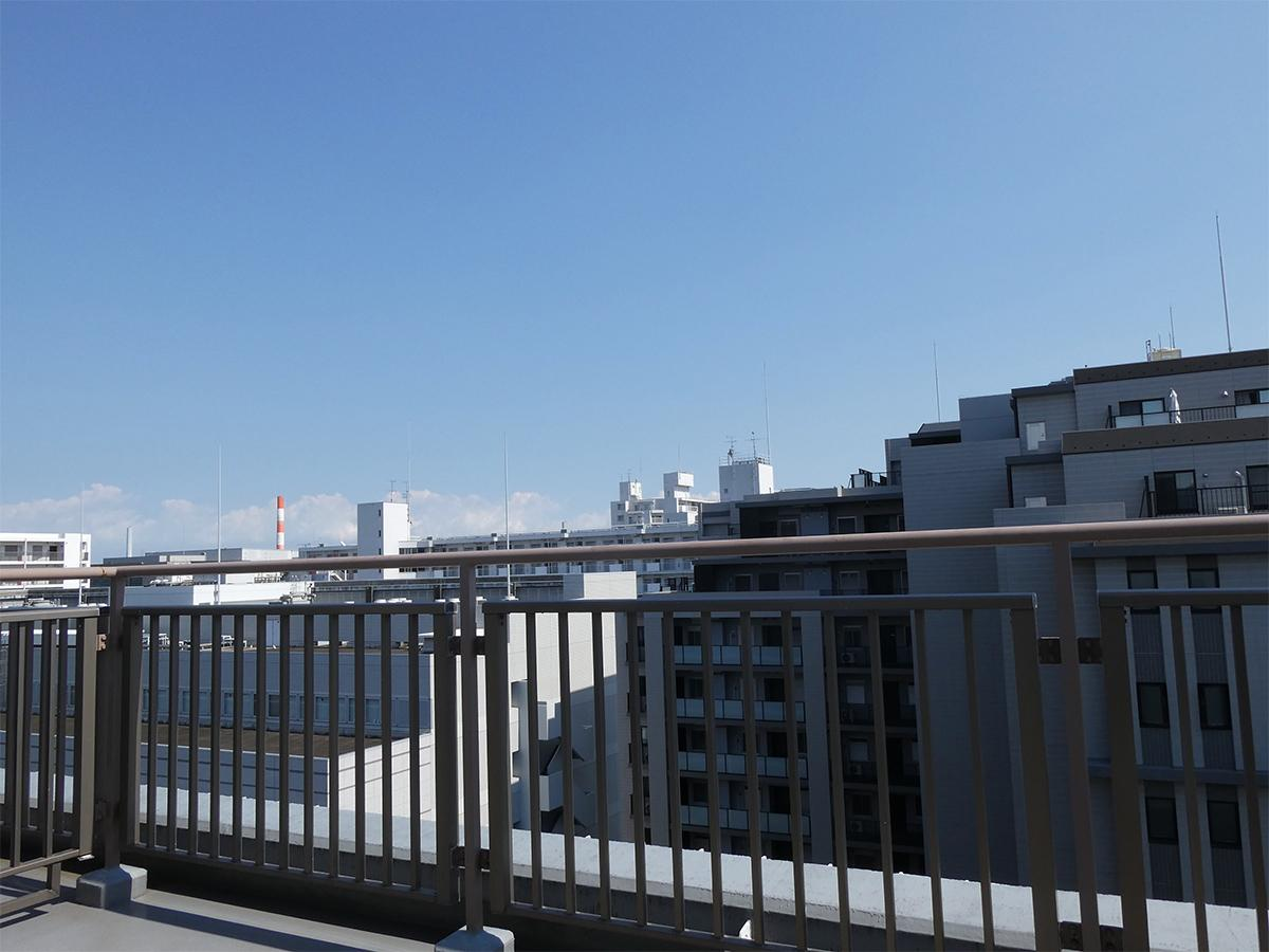 10解ルーフバルコニーからの眺望