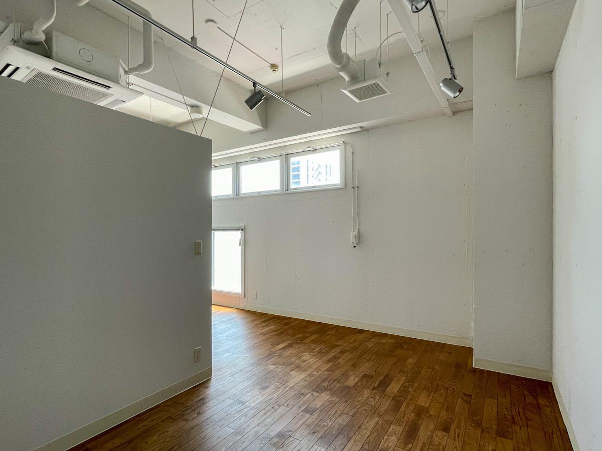 室内奥側のスペース