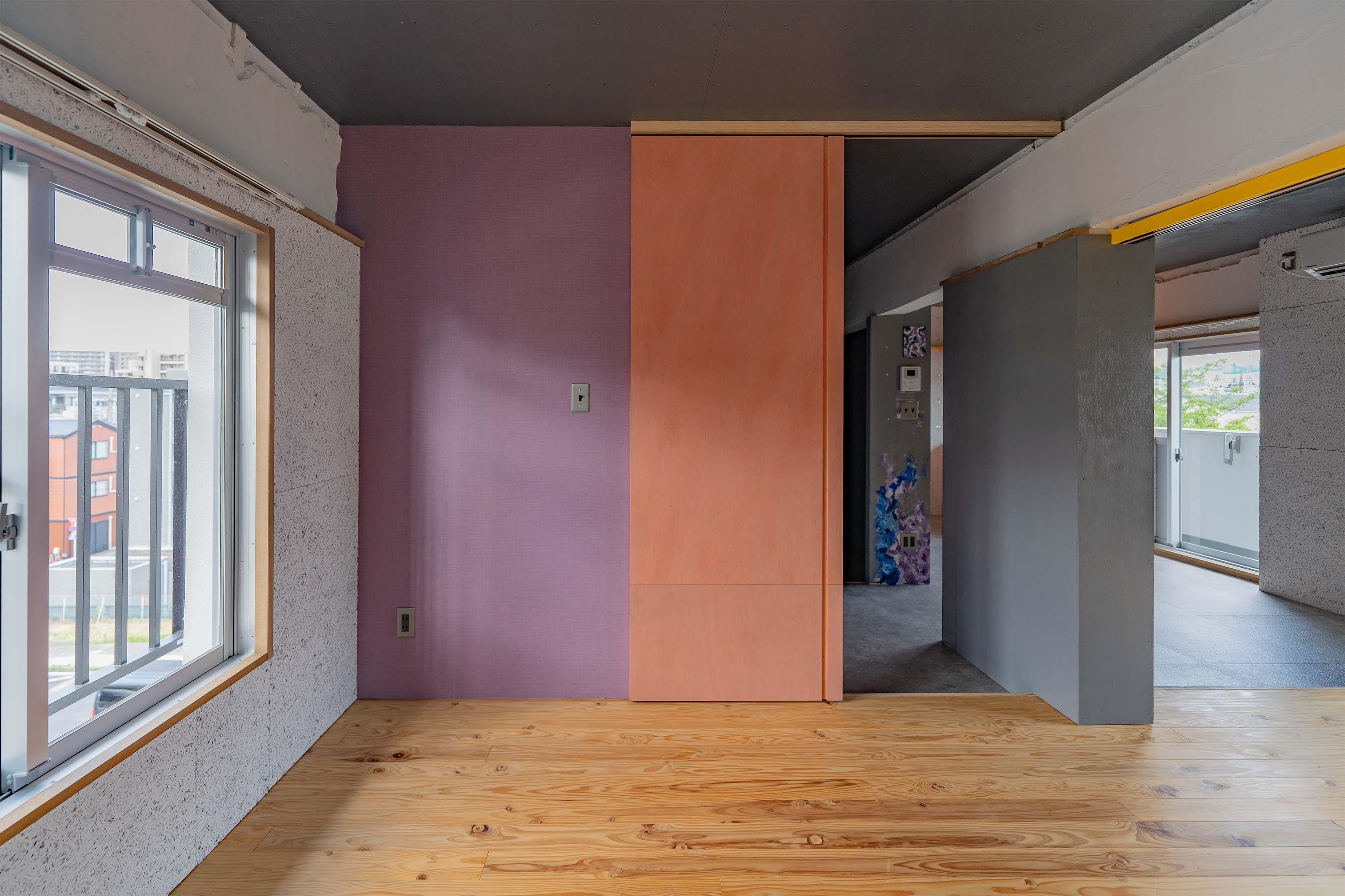 5.2畳の洋室。寝室として使うのが良さそう