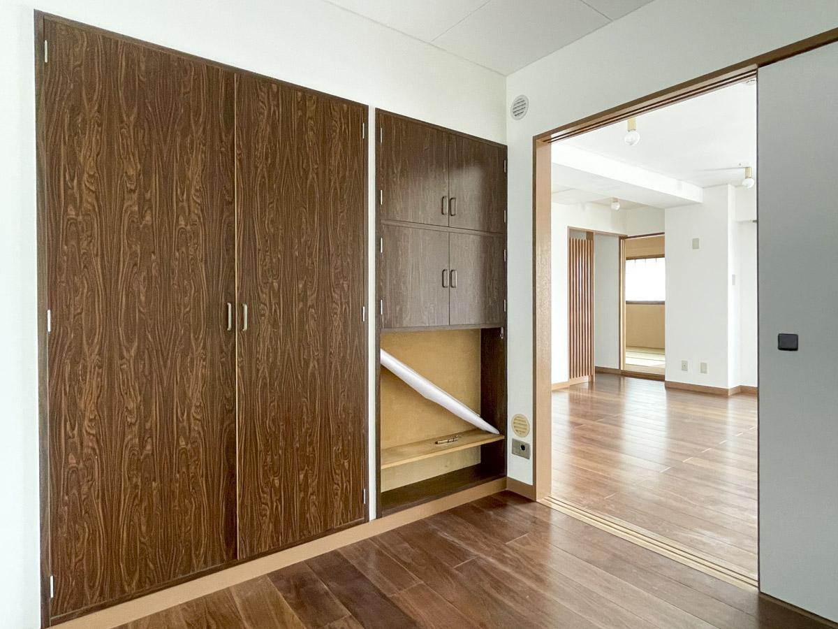 4畳の洋室はコンパクト。書斎や子ども部屋として