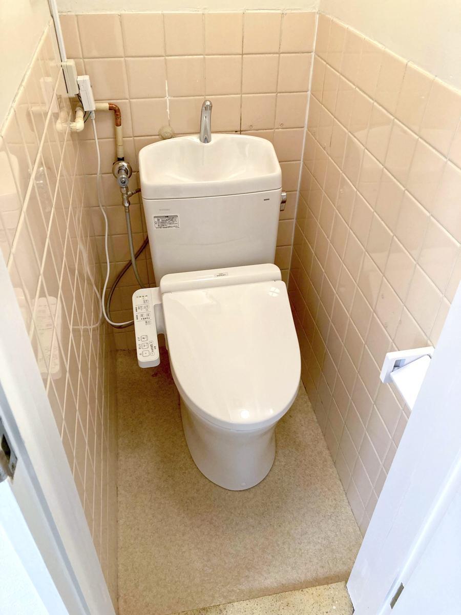 トイレは今回新設されたもの