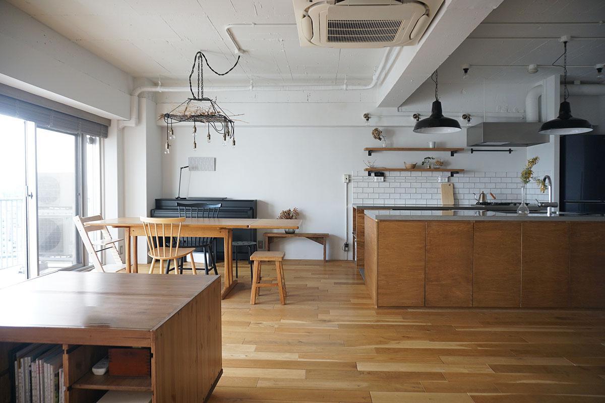 キッチンを囲む、おだやかな暮らし (品川区上大崎の物件) - 東京R不動産