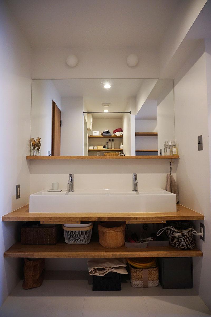 洗面台もゆったり