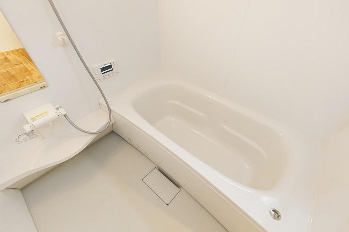 浴室はパナソニックのユニットバスが標準仕様