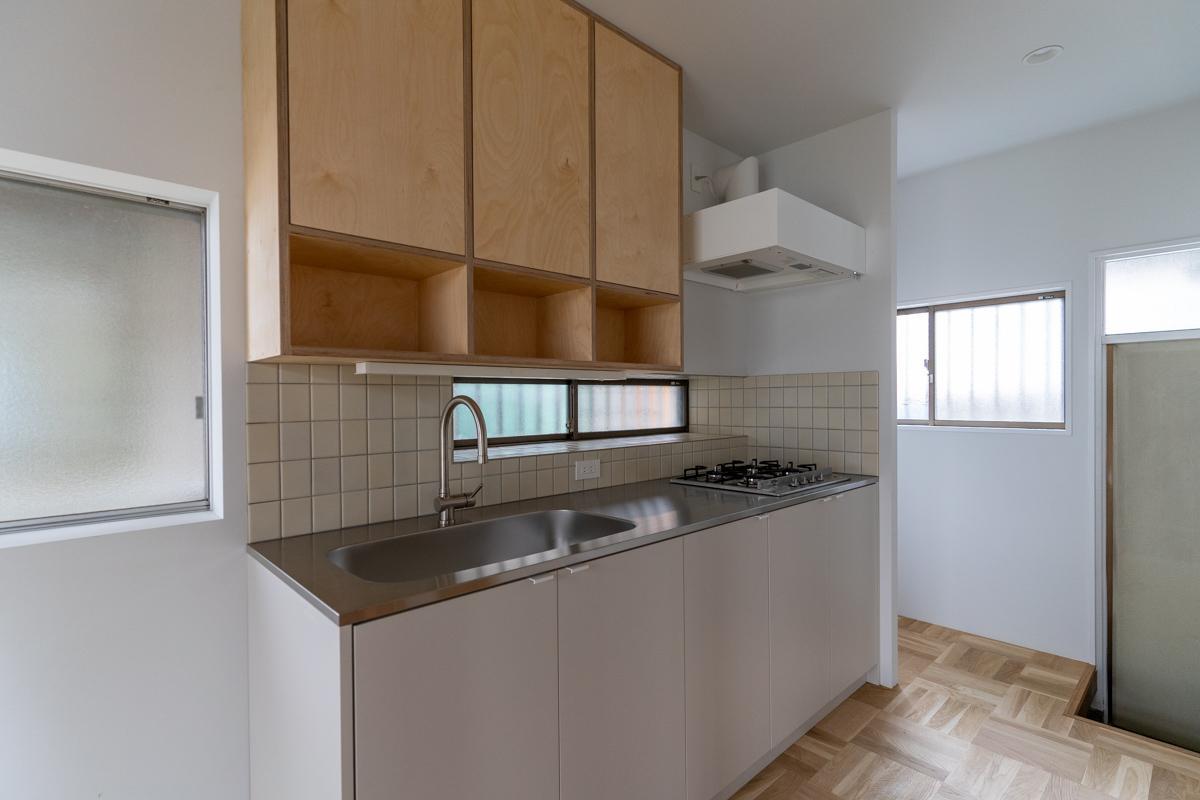 使いやすい大きめキッチン