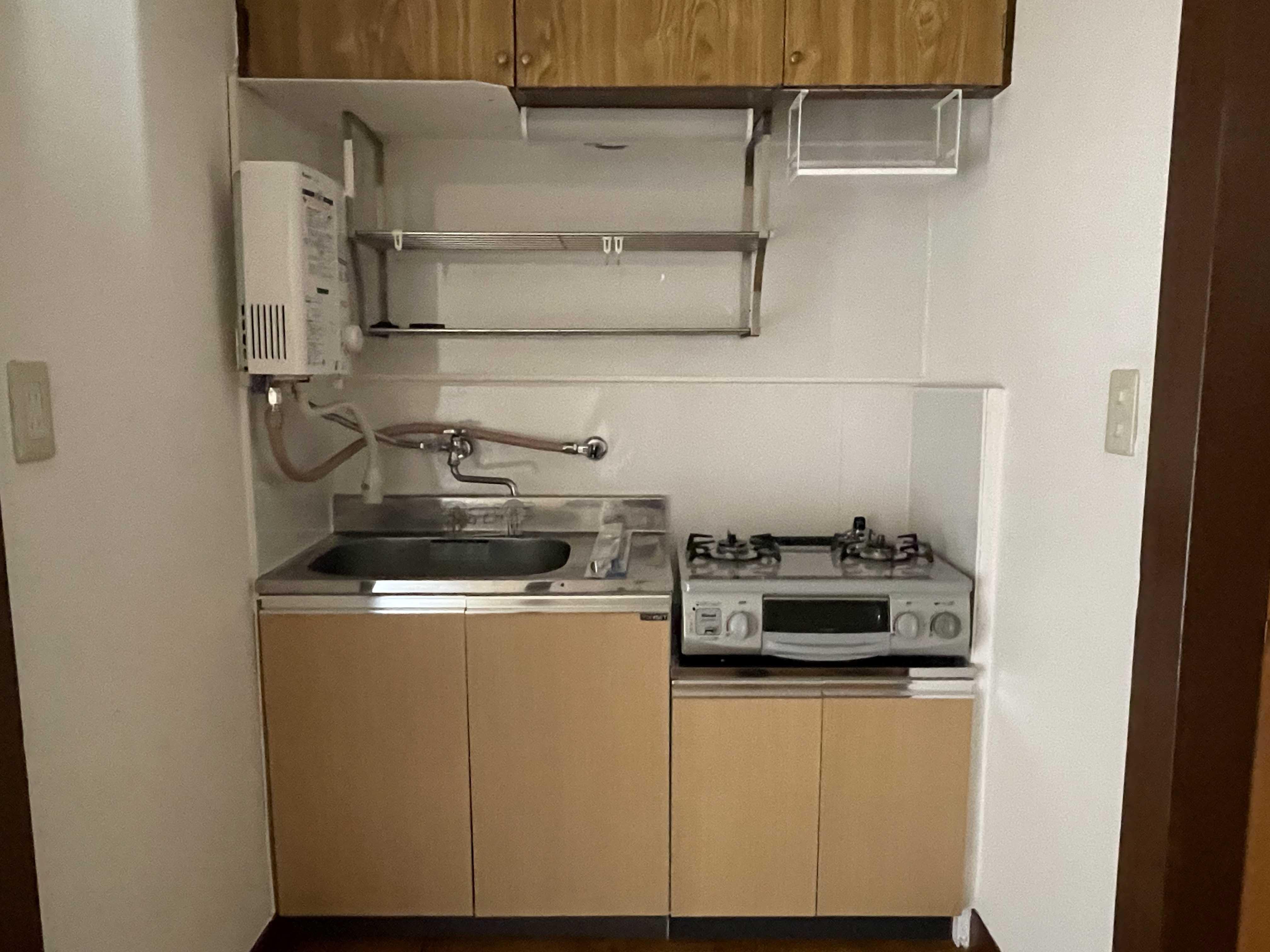 205号室:キッチン