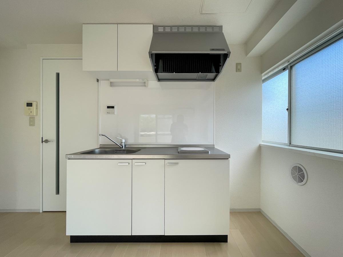 301号室:キッチンは1口IHコンロ