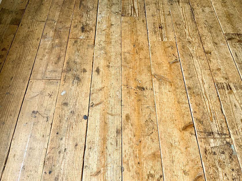 足場板の床