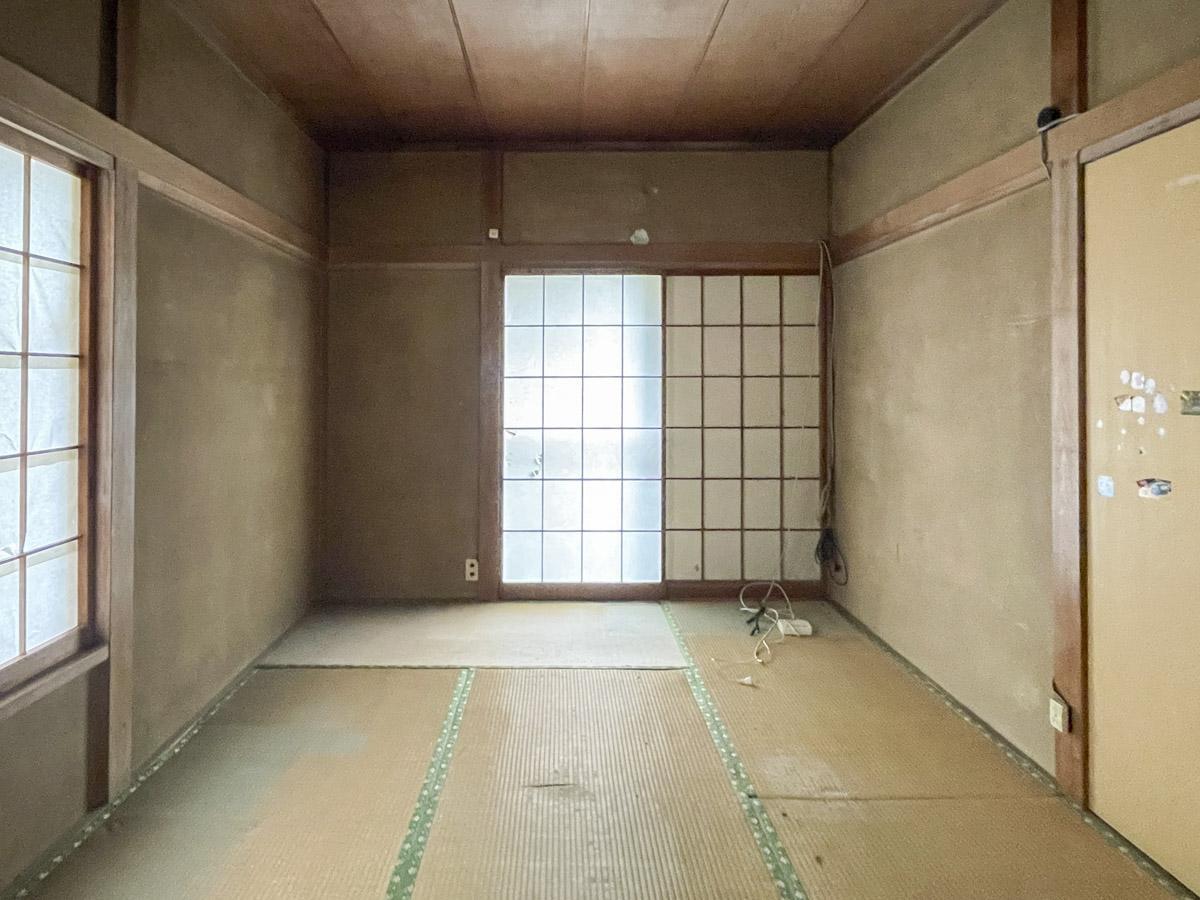 1階和室、障子を閉めた状態
