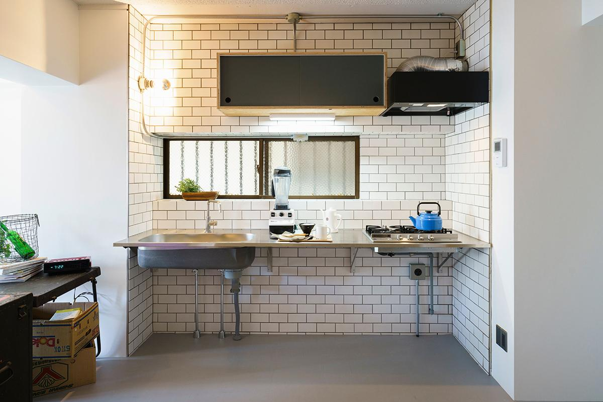 toolboxのオープンなキッチン