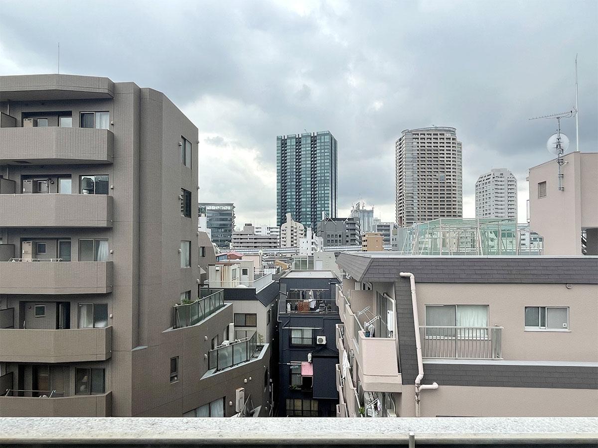 6階:南側バルコニーからの眺め