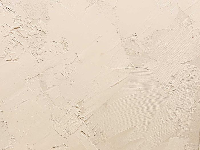 壁は左官仕上げ