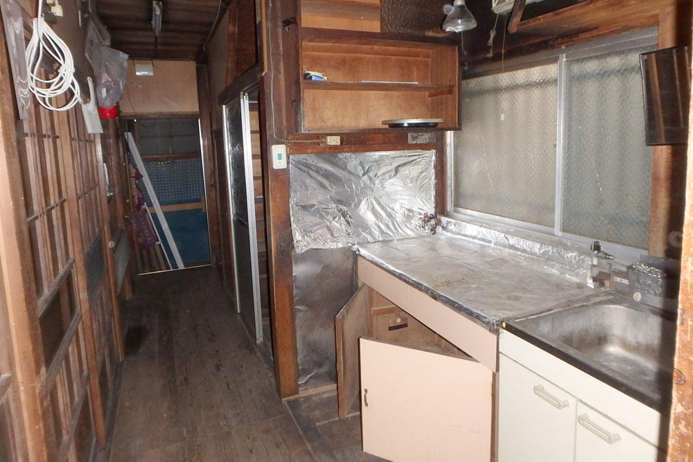 1階の台所