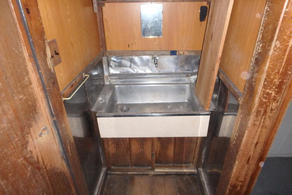 トイレ脇の洗面スペース