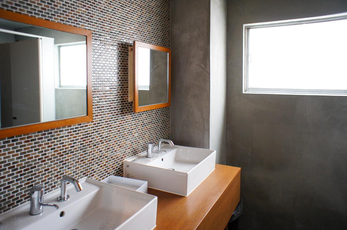 とはいえ、洗面所はキレイで使いやすくバッチリ整備