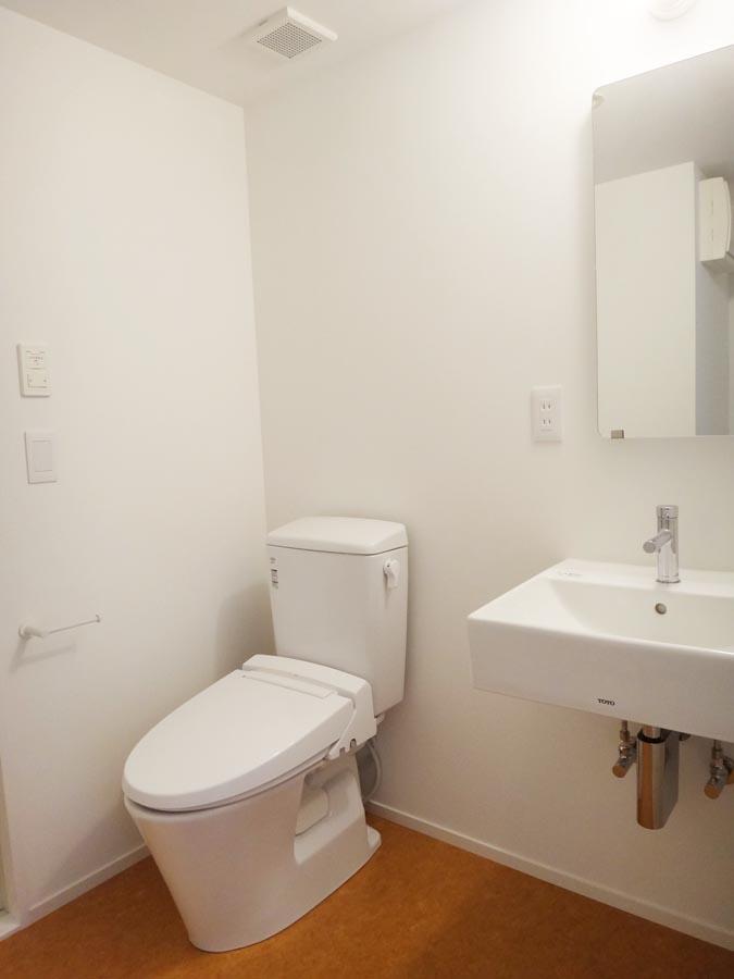 トイレ・洗面は一緒の空間