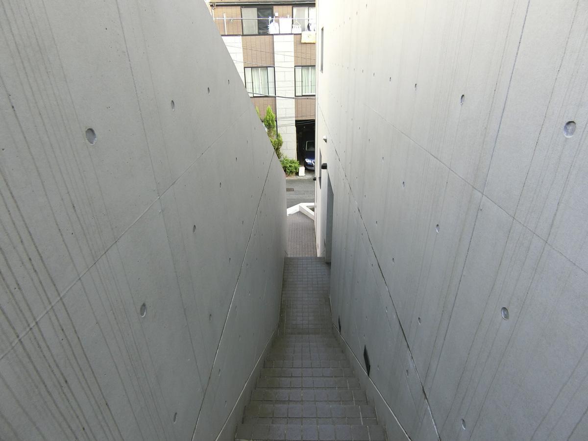 特徴的な共用階段